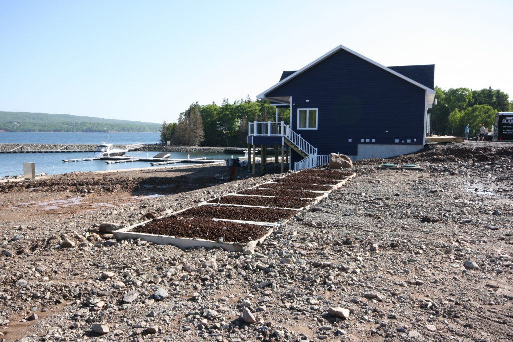 Peat system at yacht club